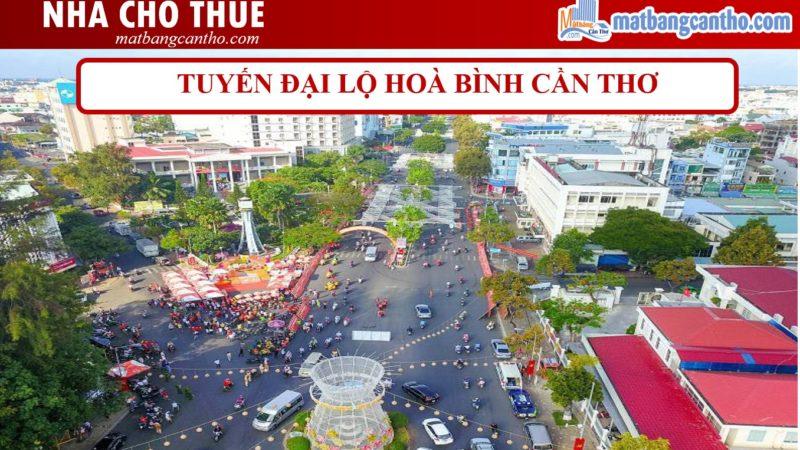 Nhà mặt tiền cho thuê Cần Thơ: Đại lộ Hòa Bình 2020