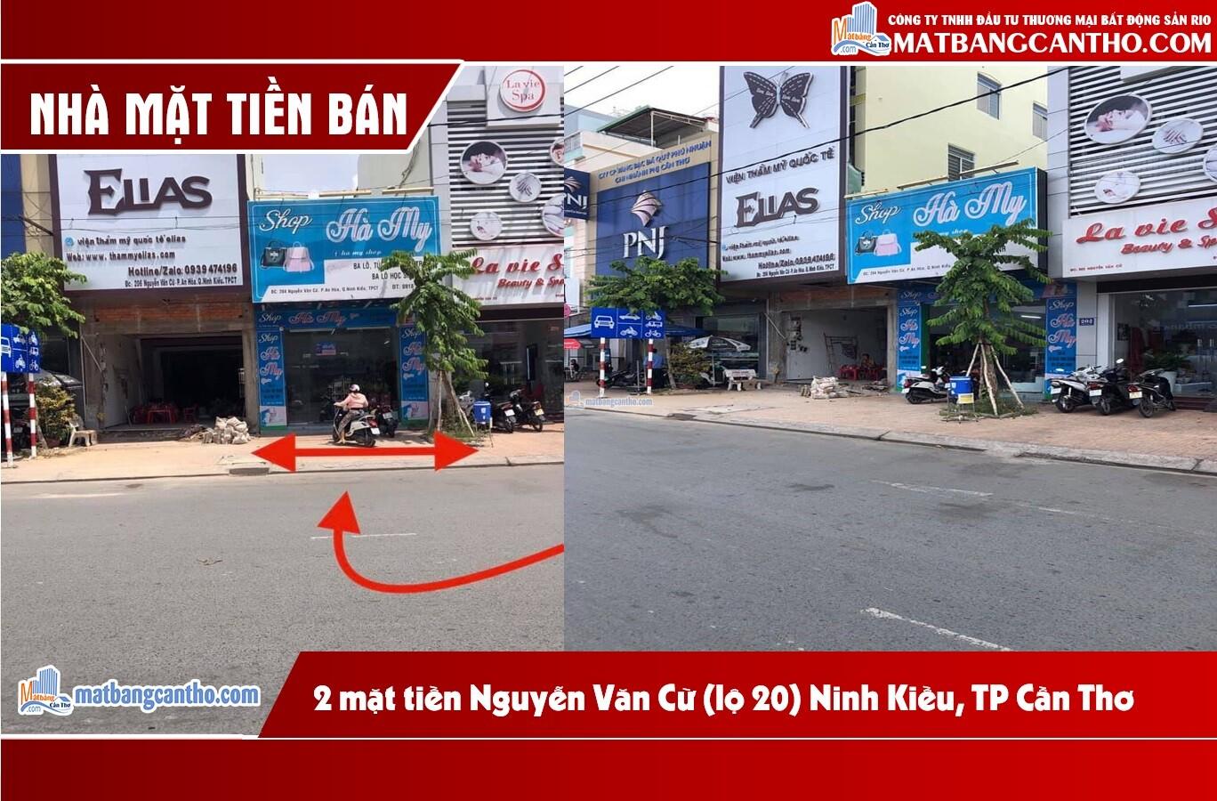 Bán nhà 2 mặt tiền Nguyễn Văn Cừ (lộ 20), P. An Hoà, Q Ninh Kiều, TP Cần Thơ.