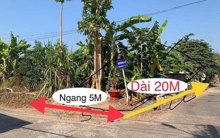 BÁN NỀN GÓC 2 MẶT TIỀN đường A5, KDC 3A, An Bình, Ninh Kiều, Cần Thơ